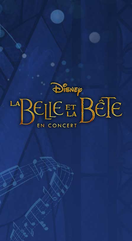 La Belle et la Bête en concert