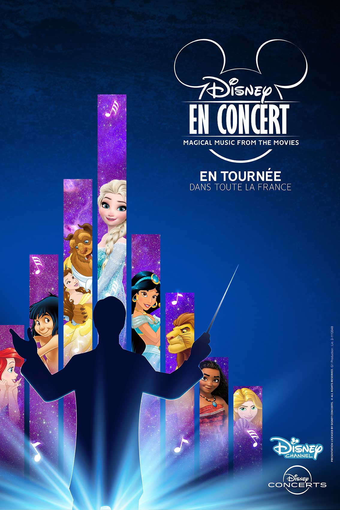 TOURNEE FRANCE DISNEY